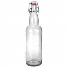 Стекло Бутылка 0,5л прозрачная с бугельным замком