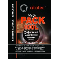 Дрожжи Alcotec Mega PACK на 100л 360г
