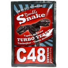 Дрожжи Double Snake C48 130 гр