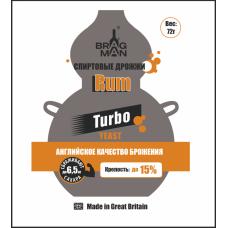 Дрожжи Bragman Rum Turbo 72гр